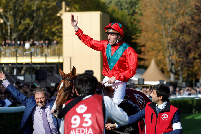 Le jockey Pierre-Charles Boudot