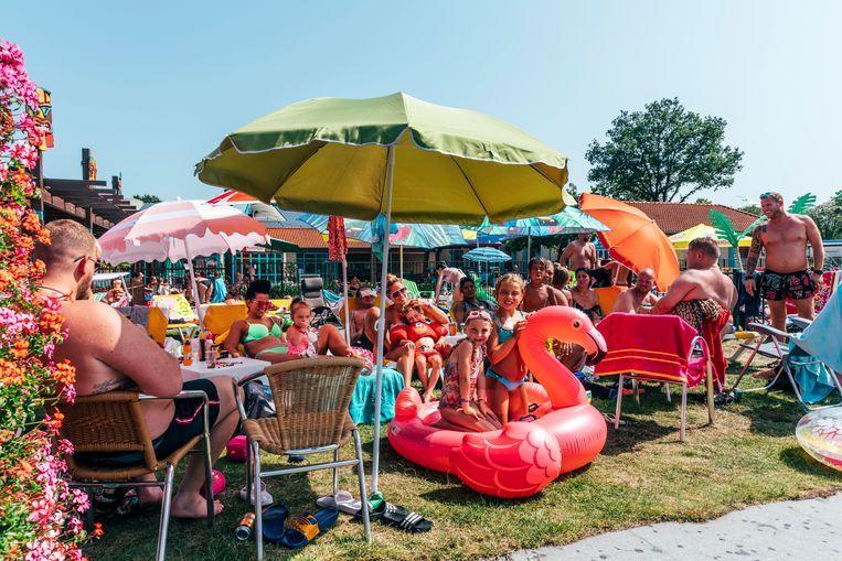 Recreatiecentrum Linberg Park in Molenschot bij Gilze-Rijen. Beeld Rebecca Fertinel