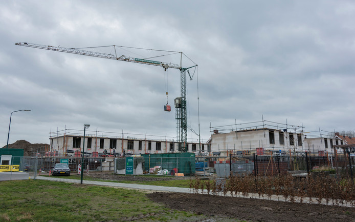 Nieuwbouwwijk de Hoge Regt in Beek en Donk.