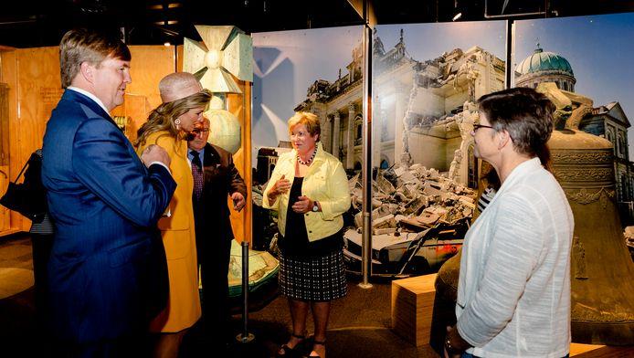 Willem-Alexander en Máxima waren erg onder de indruk van wat ze zagen