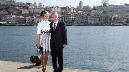 IN BEELD. Filip en Mathilde sluiten staatsbezoek Portugal af in stijl