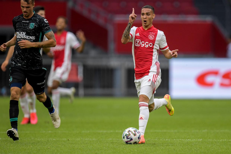 Ajax' nieuwste aanwinst Antony scoort in zinderende stilte | De Volkskrant