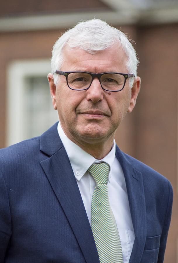 Jan van de Wiel, wethouder van het CDA in Hilvarenbeek.