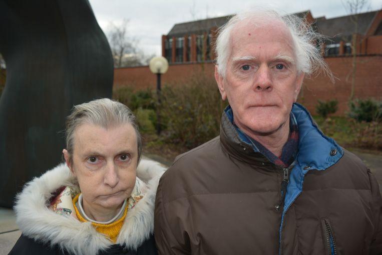 Broer en zus Luc De Vos en Laurette in 2016. Ze hebben altijd volgehouden dat zij het slachtoffer zijn.