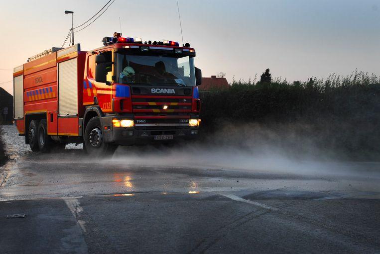 Illustratie: brandweerwagen