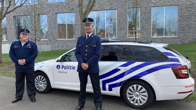 Commissaris Dirk Calcoen van Koksijdse wijkdienst gaat met pensioen, hoofdinspecteur Mario Van Imschoot treedt in zijn voetsporen