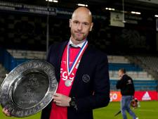 Ajax verlengt contract met succestrainer Ten Hag tot medio 2022