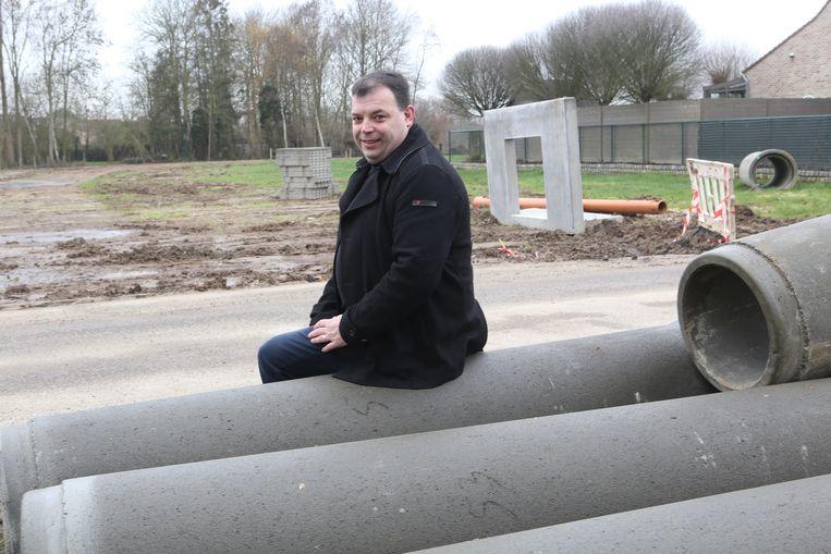 Schepen van openbare werken Kris Vanwinkelen