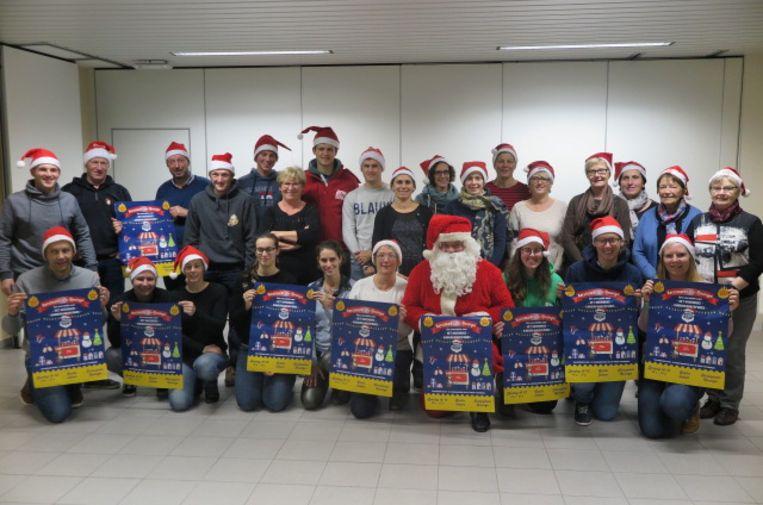 Verenigingen in Lo-Reninge organiseren een kerstmarkt voor het goede doel.