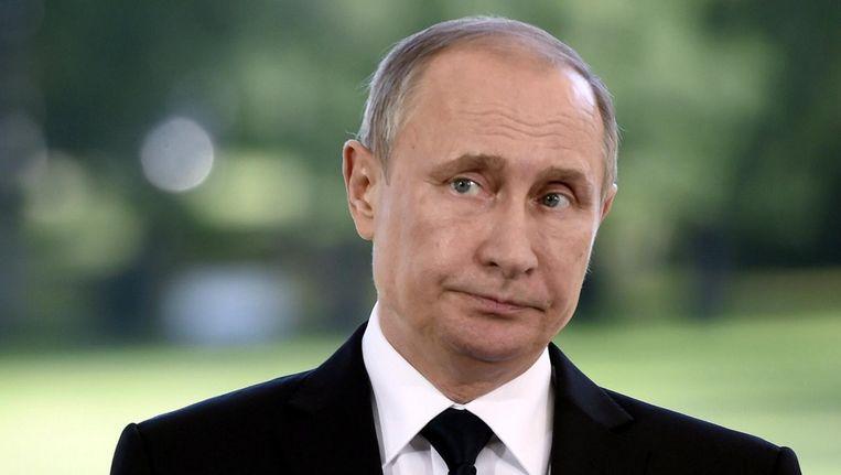 De Russische president Vladimir Poetin Beeld reuters