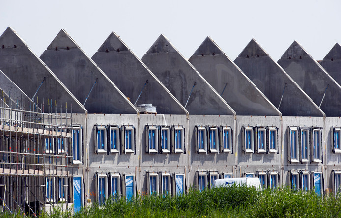 Vooral in Flevoland werden veel nieuwe woningen gebouwd.