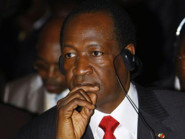 President Blaise Compaoré. EPA Beeld
