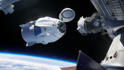 VIDEO. SpaceX-ruimteschip 'Crew Dragon' veilig op zee geland