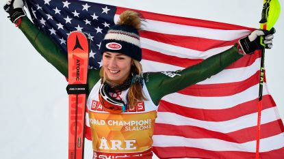 Shiffrin schrijft met vierde slalomtitel op rij geschiedenis, Vanreusel is 32ste
