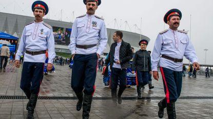 Traditioneel en controversieel: Poetins knokploeg die voor rust en orde moet zorgen in de WK-speelsteden