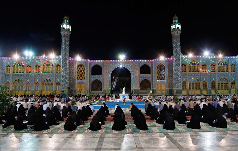 De regio Isfahan staat bekend om haar moskeeën Beeld EPA