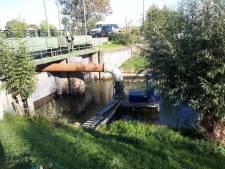 Waterstand rivieren nu hoog genoeg, noodpomp kan uit