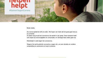 """Rode Kruis waarschuwt opnieuw voor valse e-mails met donatiebutton: """"Klik zeker niet op deze mails"""""""