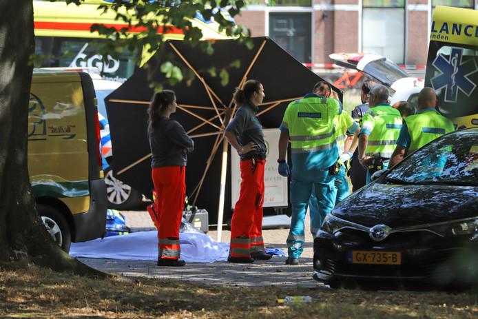 Schietpartij op het Kalverbos in Delft.