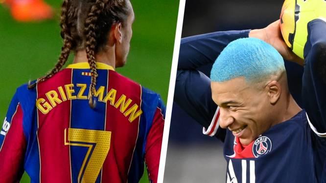Griezmann steelt de show met opvallend kapsel en enorme misser, ook Mbappé pakt uit met nieuwe coupe