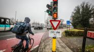 Nieuw type verkeerslichten voor fietsers en de primeur is voor Brugge