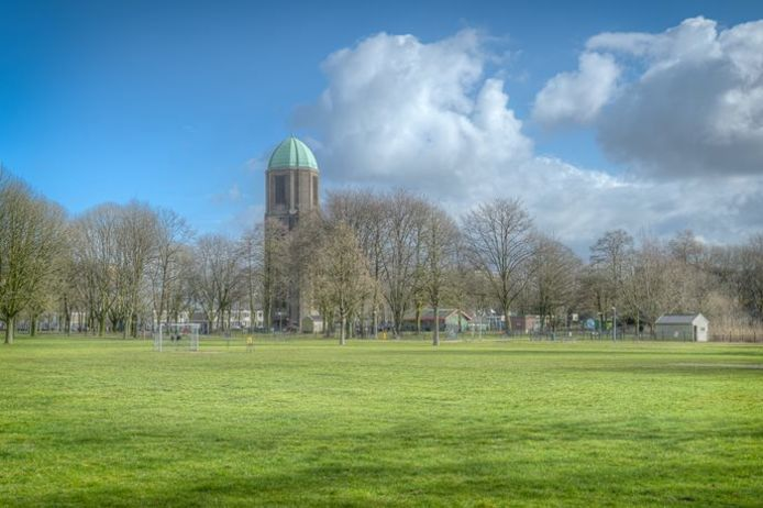 De watertoren in Overvecht.