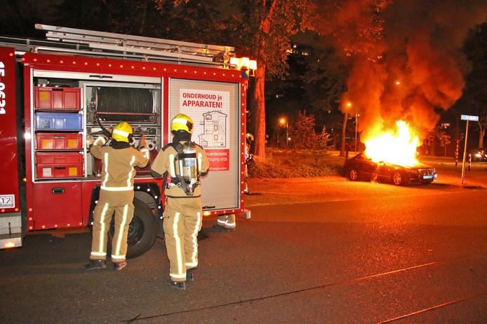Archiefbeeld ter illustratie: autobrand in Delft