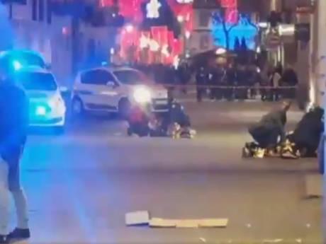 Terreuraanslag in Straatsburg: vier doden en elf gewonden, klopjacht op dader