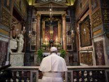 'Toch fijn idee dat de paus aan mij en mijn gezin denkt'