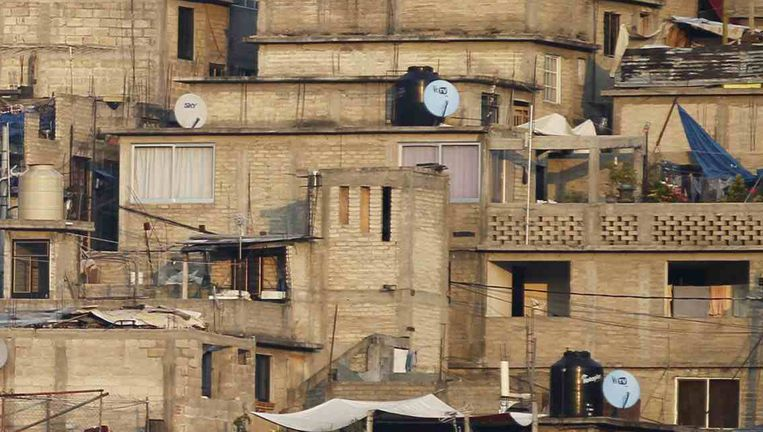 Arme wijk in Mexico-Stad. Mexico is een van de OESO-landen met de grootste inkomensongelijkheid. Beeld REUTERS