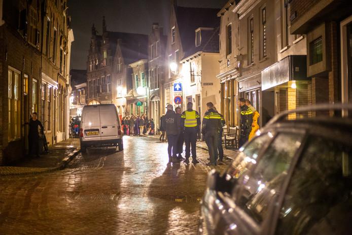 Politie in actie in Oudewater