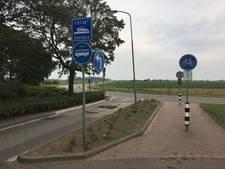 Bussluis Babberich levensgevaarlijk voor fietsers