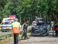 Gewonde bij auto-ongeluk op de N234
