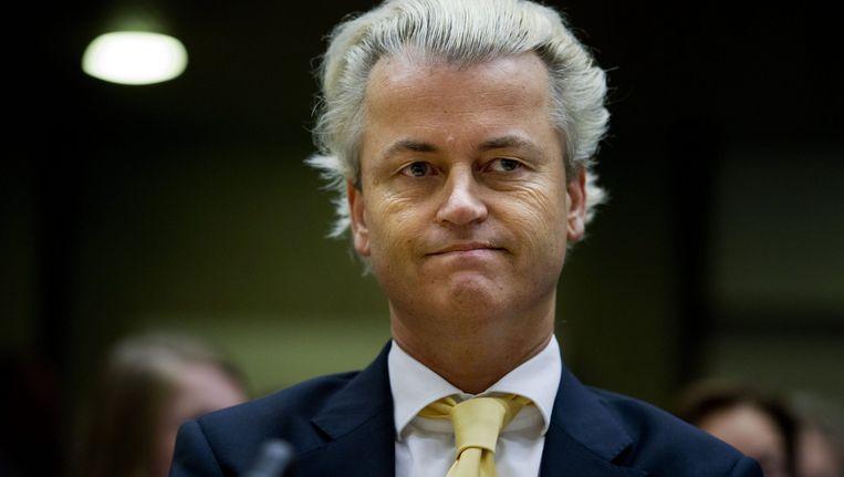 Geert Wilders. Beeld EPA