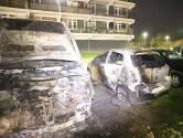 Twee auto's uitgebrand in Culemborg
