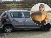 Crowdfundingsactie voor visser Bas Baks uit Deventer wiens auto in vlammen opging: 'Heel attent'