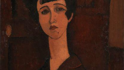 Modigliani overschilderde zijn ex-geliefde