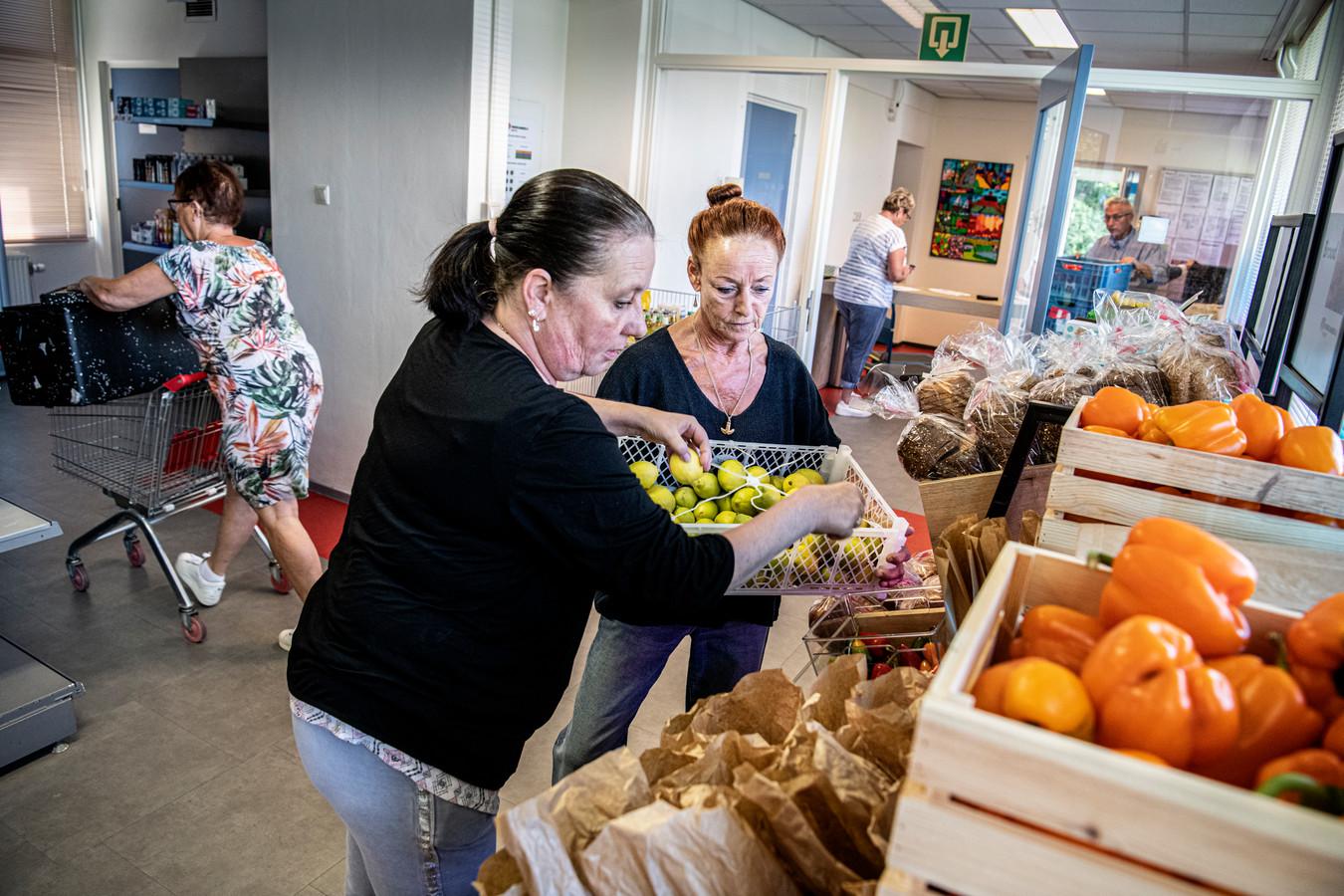 De voedselbank opende 6 juni in het voormalige consultatiebureau aan de Irenestraat in Druten.