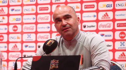 Martínez roept 33 spelers op met daarbij liefst vijf nieuwkomers: Bornauw, Vanheusden, Kayembe, Lukebakio en Saelemaekers