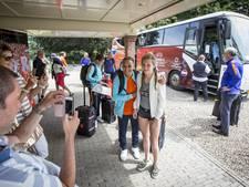 Oranjevrouwen zetten voet op Twentse bodem voor halve finale