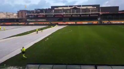 FT België: Versluys Arena helemaal klaar voor bekerkraker, Kortrijk doet warme oproep