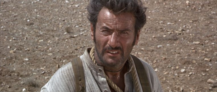 Eli Wallach in The Good, the Bad and the Ugly Beeld