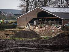 Muur van koeienschuur ingestort in Hall, kalveren geëvacueerd