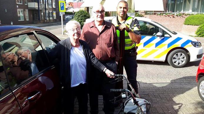Mien en Ben Groot-Bramel werden vanmiddag na bijna drieënhalf uur herenigd in Doetinchem.