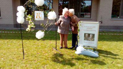 Gust (91) en Mariette (89) vieren 70ste huwelijksverjaardag in wzc Hemelrijck