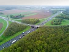 Wijchen, Beuningen en Oss: 'snelheid op A50 terug naar 100 per uur'