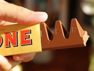 Fans opgelucht: Toblerone keert terug naar origineel formaat