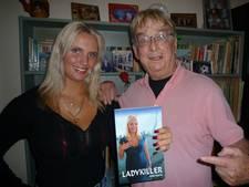 Dongense Ismay op cover van detective 'Ladykiller'