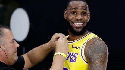 """LeBron James tempert verwachtingen voor nieuwe seizoen: """"Moeten vanaf nul beginnen"""""""