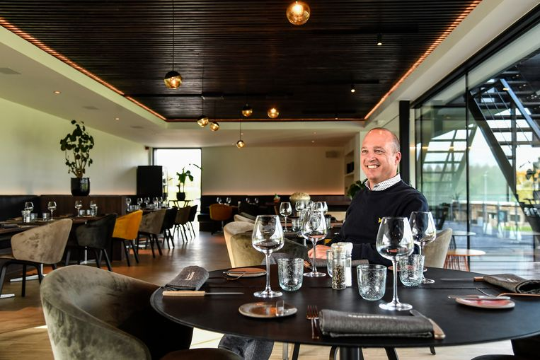 Controverse, restaurant van de golfclub in Aalst.